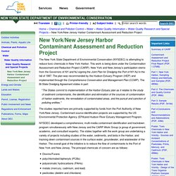 New York/New Jersey Harbor Contaminant Assessment and Reduction Project