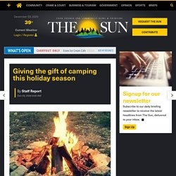 While it can be hard to shop for outdoorsy loved ones, the Department of Environmental Conservation is now allowing residents to give the gift of camping this holiday season.