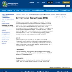 Environmental Design Space (EDS)