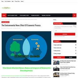 The Environmental News Effect Of Economic Process