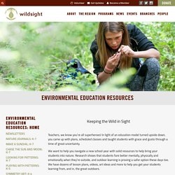Environmental Education Resources – Wildsight
