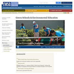 Green Schools & Environmental Education
