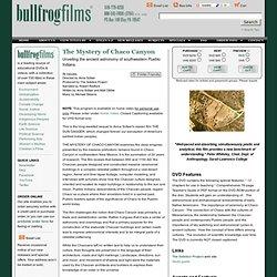 Bullfrog Films: 1-800-543-3764: DVD environnement et DVD pédagogiques