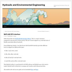 Hydraulic and Environmental Engineering