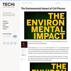The Environmental Impact of Cell Phones