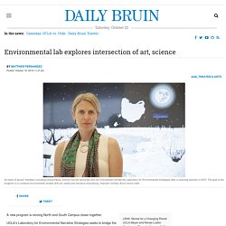 Environmental lab explores intersection of art, science