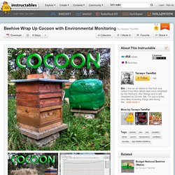 Beehive Wrap Up Cocoon with Environmental Monitoring