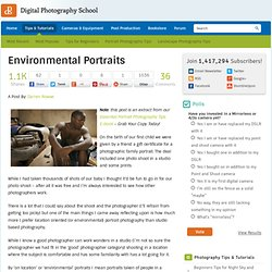Environmental Portraits