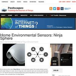 Home Environmental Sensors: Ninja Sphere