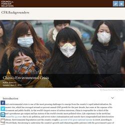 China's Environmental Crisis