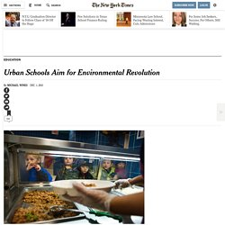 Urban Schools Aim for Environmental Revolution