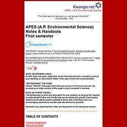Kwanga APES