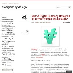Ven: A Digital Currency Designed for Environmental Sustainability