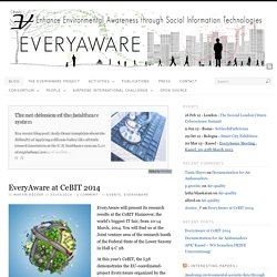 EveryAware | Enhance Environmental Awareness through Social Information Technologies