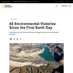 48 Environmental Victories Since the First Earth Day