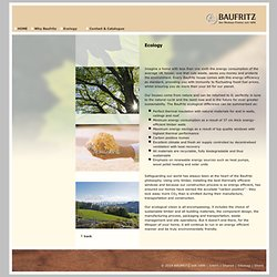 The BAUFRITZ Carbon positive homes are truly environmentally friendly with best energy efficiency.