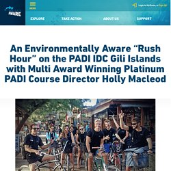 PADI IDC Indonesia and the Gili Islands Environment