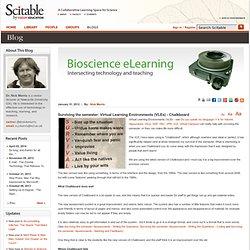 Surviving the semester: Virtual Learning Environments (VLEs) - Chalkboard