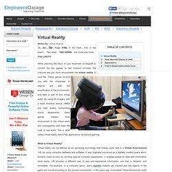 What is Virtual Reality I Virtual Reality Technology