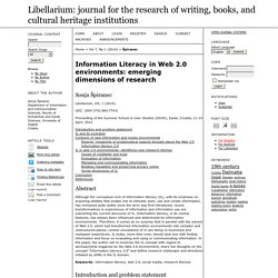 Libellarium: journal for the research of writing, books, and cultural heritage institutions