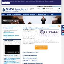 APMG-Deutschland - PRINCE2®