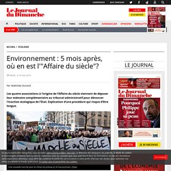 """Environnement : 5 mois après, où en est l'""""Affaire du siècle""""?"""
