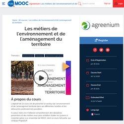 MOOC Les métiers de l'environnement et de l'aménagement du territoire