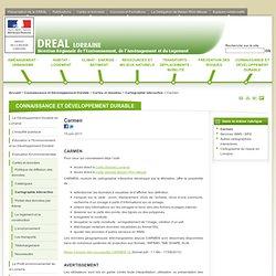 Carmen - Direction Régionale de l'Environnement, de l'Aménagement et du Logement de Lorraine