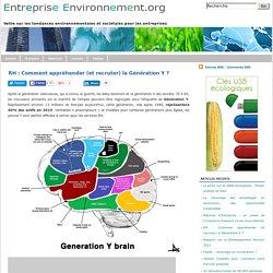 Entreprise Environnement RH : Comment appréhender (et recruter) la Génération Y ?