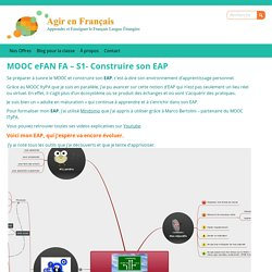 MOOC eFAN FA - EAP
