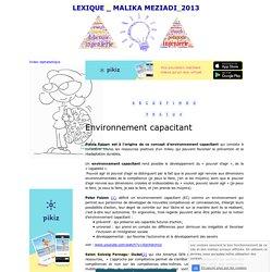 Environnement capacitant