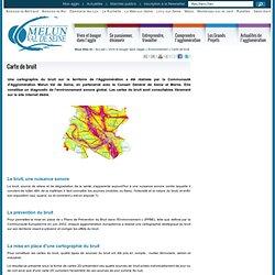 Cartes du bruit / Votre environnement / Mon agglomération / Accueil - CAMVS