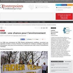 OGM : une chance pour l'environnement