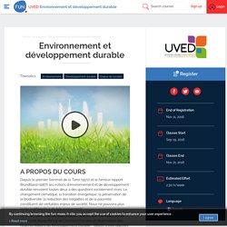 FUN - Environnement et développement durable