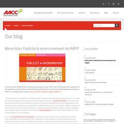 8ème bilan Publicité & environnement de l'ARPP