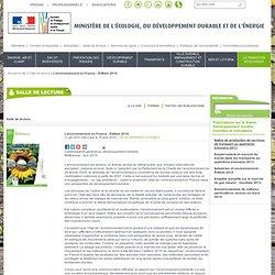 L'environnement en France - Édition 2010