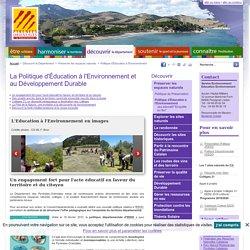 Education à l'environnement vers un développement durable dans les P.O. - Conseil Départemental des Pyrénées-Orientales