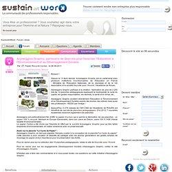 Arjowiggins Graphic, partenaire de Deyrolle pour favoriser l'Education à l'Environnement et au Développement Durable