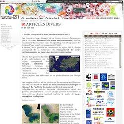 L'atlas du changement de notre environnement - Developpement durable, univers virtuel simulation