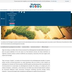 Fiches Métiers : Environnement - Développement durable - Studyrama.com
