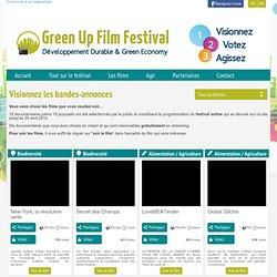 Green Up Film Festival : festival online de films d'environnement et de développement durable