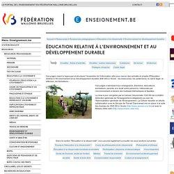 Éducation relative à l'Environnement et au Développement durable