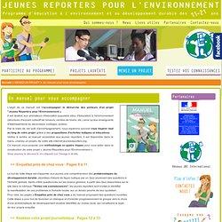 Projet Jeunes reporters
