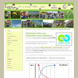 différence entre eco-efficiency (éco-efficacité) et eco-effectiveness (éco-bénéficience)