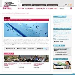 ARS POITOU CHARENTES - 2ème Plan Régional Santé Environnement 2011-2014 (PRSE2)