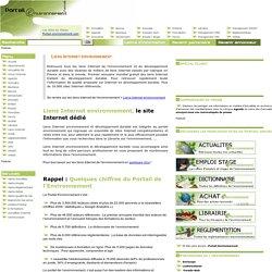 liens internet environnement et internet environnemental