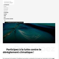 Appel à projet environnement de la Fondation GoodPlanet - Domaine de Longchamp