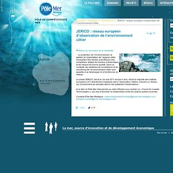 JERICO : réseau européen d'observation de l'environnement côtier | International
