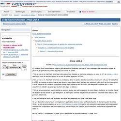 Code de l'environnement - Article L436-4