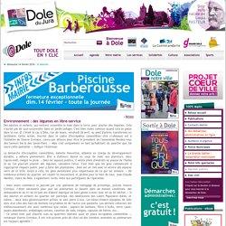 Environnement : des légumes en libre-service - Accueil - Mairie de Dole